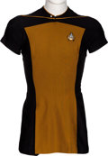 "Movie/TV Memorabilia:Costumes, Star Trek: The Next Generation Screen Used ""Scant"" Male Costume (1987)...."
