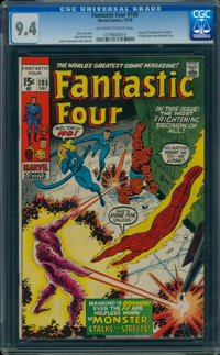 Fantastic Four #105 (Marvel, 1970) CGC NM 9.4 OFF-WHITE TO WHITE pages