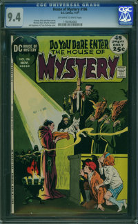 House of Mystery #196 (DC, 1971) CGC NM 9.4 OFF-WHITE TO WHITE pages