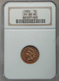 Proof Indian Cents, 1895 1C PR66 Red NGC....