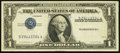 Error Notes:Inverted Third Printings, Inverted Third Printing Error Fr. 1614 $1 1935E Silver Certificate.Very Fine+.. ...