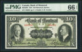 Canadian Currency, Montreal, PQ- Bank of Montreal $10 Jan. 2, 1931 Ch. # 505-58-04. ...