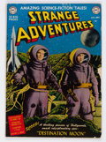 Golden Age (1938-1955):Science Fiction, Strange Adventures #1 (DC, 1950) Condition: Apparent GD/VG....
