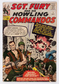 Silver Age (1956-1969):War, Sgt. Fury and His Howling Commandos #1 (Marvel, 1963) Condition: Apparent GD....