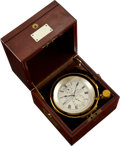 Timepieces:Pocket (post 1900), Victor Kullberg London Fine Two-Day Marine Chronometer. ...