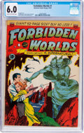 Golden Age (1938-1955):Science Fiction, Forbidden Worlds #1 (ACG, 1951) CGC FN 6.0 Cream to off-whitepages....