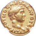 Ancients:Roman Imperial, Ancients: Otho (AD 69). AV aureus (20mm, 7.12 gm, 6h). NGC VF 5/5 - 4/5....