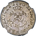 French Colonies: Louis XV Sol (1/2 Sou Marqué) 1740-AA MS62 NGC,