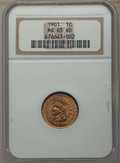 Indian Cents: , 1901 1C MS65 Red NGC. NGC Census: (124/31). PCGS Population: (221/89). MS65. Mintage 79,611,144. ...
