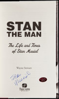 Autographs:Others, Stan Musial Signed Book and Tape.. ...