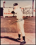 Autographs:Photos, Mickey Mantle Signed Oversized Photo.. ...