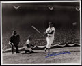 Autographs:Photos, Ted Williams Signed Oversized Photograph - Classic Swing. . ...