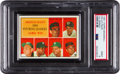 Baseball Cards:Unopened Packs/Display Boxes, 1961 Topps Baseball 1st Series Cello Pack PSA Mint 9. ...