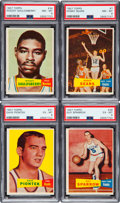 Basketball Cards:Lots, 1957 Topps Basketball Collection (12). ...