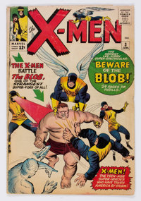 X-Men #3 (Marvel, 1964) Condition: GD