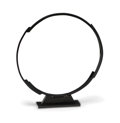 Bronze:European, Bruno Romeda (Italian, 1933-2017). Circle, 1995. Patinatedbronze with marble base. 30-3/4 x 28-1/2 x 4 inches (78.1 x 7...