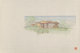 Frank Lloyd Wright (American, 1867-1959) Drawings of the Mr. & Mrs. Louis Penfield House (three works), 1952 Ink...