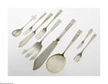 Silver Flatware, American:Other , A Collection of American Silver Serving Pieces Marks of Wilkens;and Marshall Fields & Co., Twentieth Century The first ... (9Items)