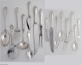 Silver Flatware, American:Other , Seventy-Two Piece American Silver Flatware Mark of Reed &Barton, Taunton, MA, c.1920 The majority of the set in the 'Fo...(72 Items)