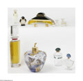 Art Glass:Other , A Group Of Perfume Bottles Various houses The group of perfumebottles represented by the clear glass Giorgio Armani... (14 Items)