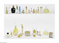 Art Glass:Other , A Grouping Of Perfume Bottles Various houses The group of assortedperfume bottles including a clear glass Chamade b... (28 )