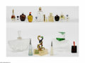 Art Glass:Other , A Group Of Factice, Perfume Bottles, And Assorted Clear BottlesVarious houses The group of factices, represented by a c... (22Items)