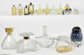Art Glass:Other , A Grouping Of Factices, Perfume Bottles, And Miniatures Varioushouses A group of five factices including Gucci, per... (23 Items)
