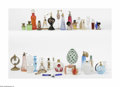 Art Glass:Other , A Grouping Of Perfume Bottles Fabrege and other houses This largeassortment of perfume bottles and atomizers includes a... (36Items)