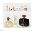 Art Glass:Other , A Grouping Of Perfume Bottles Various houses A group of facticesrepresented by Giorgio Armani, including perfume bo... (12 Items)