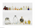 Art Glass:Other , A Grouping Of Factices And Perfume Bottles Various houses Thegrouping of factices and perfume bottles represented by fi... (20Items)