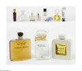 Art Glass:Other , A Grouping Of Perfume Bottles Various houses An eleven-pieceassortment of perfume bottles, including Lanvin, Chanel, ... (11Items)