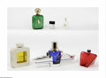 Art Glass:Other , A Grouping Of Factices And Perfume Bottles The four facticesincluding Ralph Lauren Polo, Balman and others, two small ... (6Items)