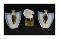 Art Glass:Other , A Grouping Of Perfume Bottles Lalique Art Glass Perfume Bottles AGrouping of Lalique perfume bottles represented by... (3 Items)