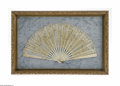 Miscellaneous: , An American Folding Fan Maker unknown, c.Late Nineteenth CenturyThe carved and decorated ivory sticks and ribs in flori...