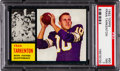 Football Cards:Singles (1960-1969), 1962 Topps Fran Tarkenton #90 PSA NM 7....