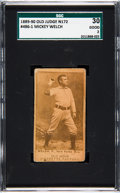 Baseball Cards:Singles (Pre-1930), 1887-90 N172 Old Judge Mickey Welch (#486-1) SGC 30 Good 2. ...