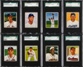 Baseball Cards:Lots, 1950 Bowman Baseball SGC 88 NM/MT 8 Collection (26). ...