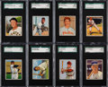 Baseball Cards:Lots, 1950 Bowman Baseball Low Number SGC 92 NM/MT+ 8.5 Collection (16)....