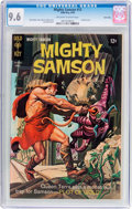 Silver Age (1956-1969):Adventure, Mighty Samson #15 Twin Cities Pedigree (Gold Key, 1968) CGC NM+ 9.6 Off-white to white pages....