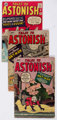 Tales to Astonish #38, 41, and 42 Group (Marvel, 1962-63) Condition: Average GD/VG.... (Total: 3 Comic Books)
