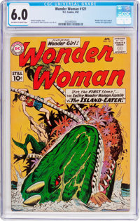 Wonder Woman #121 (DC, 1961) CGC FN 6.0 Off-white to white pages