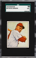Baseball Cards:Singles (1950-1959), 1950 Bowman Richie Ashburn #84 SGC 96 Mint 9 - Pop two, NoneHigher....