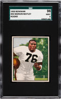 Football Cards:Singles (1950-1959), 1950 Bowman Marion Motley #43 SGC 96 Mint 9 - Pop One, None Higher! ...
