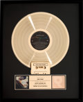 Music Memorabilia:Awards, Beatles - Paul McCartney Tripping the Live Fantastic RIAAHologram Gold Sales Award.
