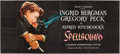 "Movie Posters:Hitchcock, Spellbound (United Artists, 1945). 24 Sheet (104"" X 232"").. ..."