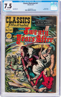 Golden Age (1938-1955):Classics Illustrated, Classics Illustrated #41 Twenty Years After (Gilberton, 1947) CGCVF- 7.5 Off-white pages....