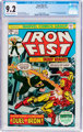 Iron Fist #1 (Marvel, 1975) CGC NM- 9.2 Off-white to white pages