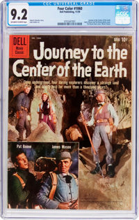 Four Color #1060 Journey to the Center of the Earth (Dell, 1959) CGC NM- 9.2 Off-white to white pages