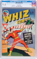 Whiz Comics #28 Rockford Pedigree (Fawcett Publications, 1942) CGC VF/NM 9.0 Off-white pages