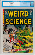 Golden Age (1938-1955):Science Fiction, Weird Science #22 Gaines File Pedigree (EC, 1953) CGC VF/NM 9.0Off-white pages....